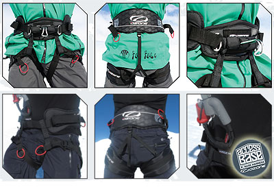 2012 Ozone Access Snowkiting Harness And Lanboarding